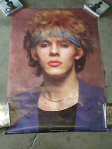 NICK RHODES - POSTER (DURAN DURAN) 1983 Anabas Posters Printed in England MTV