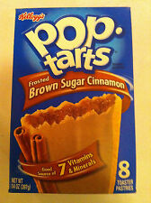 Pop tarts Frosted Brown Sugar Cinnamon 8 Toaster Pastries 400g