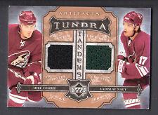 Mike Comrie-Ladislav Nagy 2006-07 UD Artifacts Tundra Dual Game Jersey Card