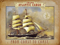 Nostalgic Art Trans Atlantic Cargo - Marinaio - Brigg - Zweimaster - Magnete