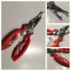 """5"""" Alloy Fishing Pliers Scissors Line Cutter Remove Hook Tackle Tool Wire Lures"""
