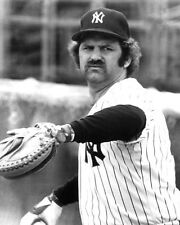 1978 New York Yankees THURMAN MUNSON Glossy 8x10 Photo Print Baseball Poster