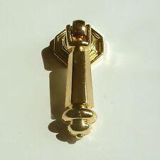 Elegant Möbelknopf Komode Schubkasten klassiker Griff Pull Knopf Metal Gold NEU