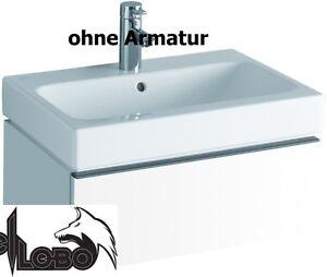 Keramag iCon Waschtisch 750 x 485 weiss 124075000