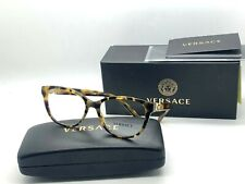 NEW VERSACE Eyeglasses OVE3273 5306 LIGHT TORTOISE  52-16-140MM /NIB ITALY