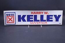 Vintage 1980's Vote HARRY W. KELLEY for Governor of Md. ~ Ocean City Memorabilia