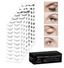 Eyelashes Splashes 70 Multi Size Pieces Set Adhesive Add On Beauty