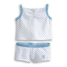 American Girl Doll Cami Boxer Brief Underwear Set Authentic NEW