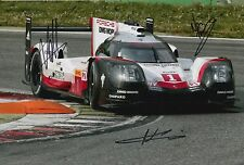 Lotterer, Tandy, Jani Hand Signed Porsche Racing 12x8 Photo Le Mans 2017 7.