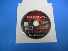 PlayStation 2 Resident Evil Outbreak Rated M Mature DISC ONLY PS2