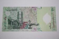 (PL) RM 5 EK 5955555 UNC 1ST POLYMER NICE, FANCY & ALMOST SOLID NUMBER