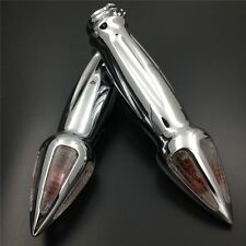 For Harley Davidson Customs Dyna Softail 1'' Motorcycle Hand Grips Turn Signals