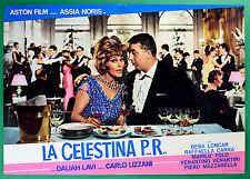 T23 FOTOBUSTA LA CELESTINA PR ASSIA NORIS CARLO LIZZANI DALIAH LAVI BEBA LONCAR