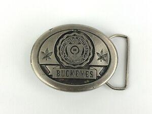 Vintage Ohio State University Columbus Buckeyes Belt Buckle Koleaco