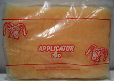 ONE WAX APPLICATOR PAD FOR PROFESSIONAL 8 in. x 5 1/2 in x 3/4 in. NEW