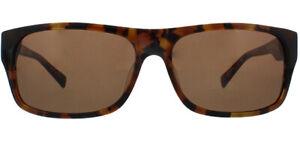Mens Harley Davidson Rectangular Classic Sunglasses Dark Havana HD0905XS