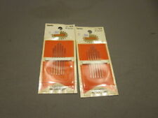 2 Packages Of Tapestry Needles Colonial SIZE 18/22 TOTAL 12 NEEDLES