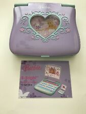 Barbie B-Bright Learning Laptop - Oregon Scientific