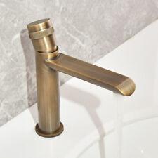 Bathroom Antique Bronze Finish Brass Basin Sink Faucet Single Handle Water Tap