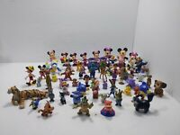 Huge Disney Mini pvc Figures Lot mickey & friends nemo dambo pinocchio cake topp