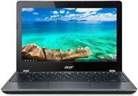 Acer Chromebook 11.6in Intel Celeron Dual-Core 1.5GHz 4GB 16GB SSD C740-C4PE +