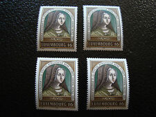 LUXEMBOURG - timbre yvert et tellier n° 1340 x4 n** (A17) stamp