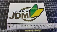 Sticker Concept JDM Sticker Bomb DUB Japan Honda Fun Toyota Nissan Nerd USDM