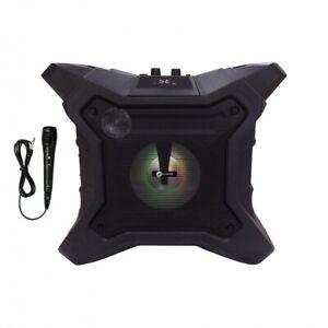 Bluetooth Sound + Licht Party System mit Powerbank 150 W max Radio Mikrofon Neu