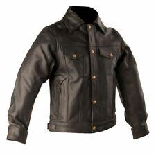 Men's Leather Denim Style Jacket