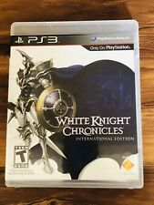 PS3 PS 3 Playstation White Knight Chronicles International Edition Mint CIB