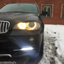 BMW X5 E70 2007-2010 DRL grill modules Daytime Running Light ECE RL R87 TFL fog