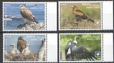 Cook 2019 birds of prey EAGLES, HAWKS, VULTURES set MNH michel 2253-56 115 euro
