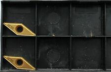 2 piezas PLAQUITAS INTERCAMBIABLES wodex vcmt 160804-um wog2425