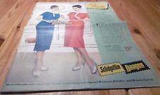 versandhaus katalog heft alt  frohe ostern mode möbel schöpflin haagen 1957