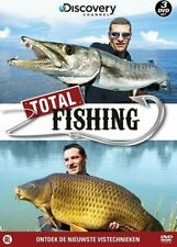 Discovery Channel : Total Fishing    3-dvd  in seal.