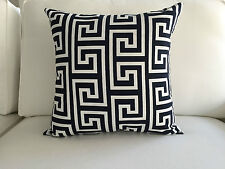 "Superb Blue/White Pillow Cover, 18""x18""."