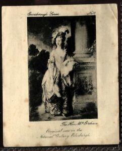 Tobacco Card, Ardath, GAINSBOROUGH SERIES, 1915, Mrs Graham, #17