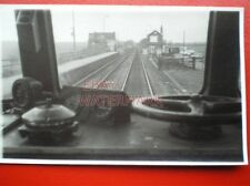 PHOTO  SOUTH MILFORD RAILWAY STATION VIEW FROM CAB 9/3/84