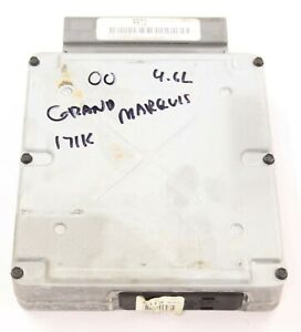 2000 Grand Marquis Crown Victoria OEM Engine Computer ECM ECU EEC YW7F12A650GC