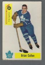 1958-59 Parkhurst Toronto Maple Leafs Hockey Card #50 Brian Cullen