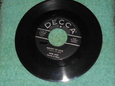 Four Aces Melody Of Love NM/There Is A Tavern In The Town NM 1954 Pop 45