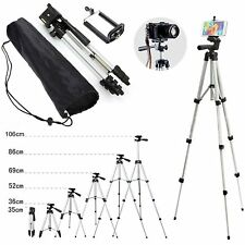 Professional Camera Tripod Stand Holder Video Camcorder Mobile Mount Extendable