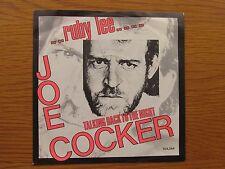 """JOE COCKER Ruby Lee 1982  GERMAN PRESSING 7"""" VINYL SINGLE IN PICTURE SLEEVE"""