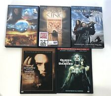 Sci Fi Fantasy Movie Dvd Lot Of 5 Van Helsing Serenity Queen Of Damned