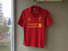 Liverpool Home football shirt 2012/2013 Jersey S Warrior Soccer Camiseta Red