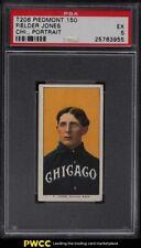 1909-11 T206 Fielder Jones CHICAGO, PORTRAIT PSA 5 EX