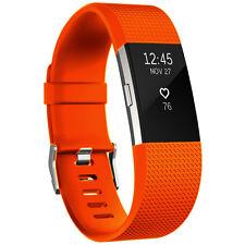 Para Fitbit Charge 2 Repuesto Correa Deporte Silicona Correa De Reloj/