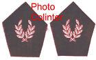 SERVICE VETERINAIRE - Paire d'Ecussons de col pour veste mle 1952/58
