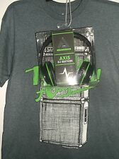 Audio Council T shirt and Headphones   Shirt Size M