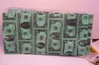 Novelty Paper Lunch Bags Money Dollar Bills Design